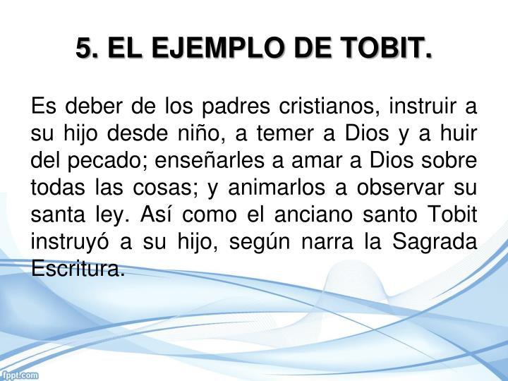 5. EL EJEMPLO DE TOBIT.