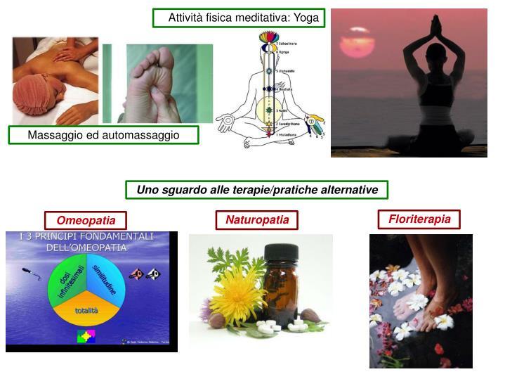 Attività fisica meditativa: Yoga