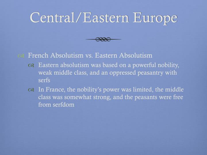 absolutism vs constitutionalism Compare and contrast absolutism and constitutionalism matrix by the close of the 17th century, england had developed into a constitutional monarchy.