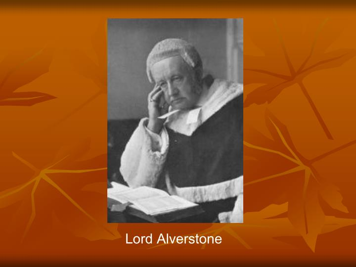 Lord Alverstone