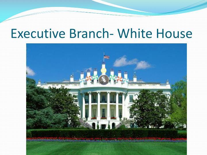 Executive Branch- White House