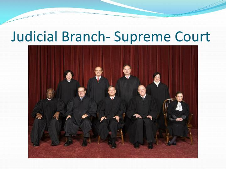 Judicial Branch- Supreme Court