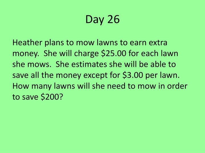 Day 26