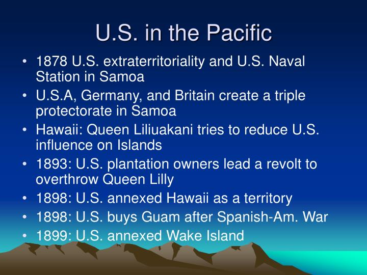 U.S. in the Pacific