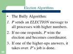 election algorithms1