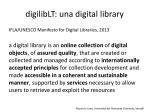 digiliblt una digital library