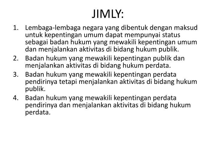 JIMLY: