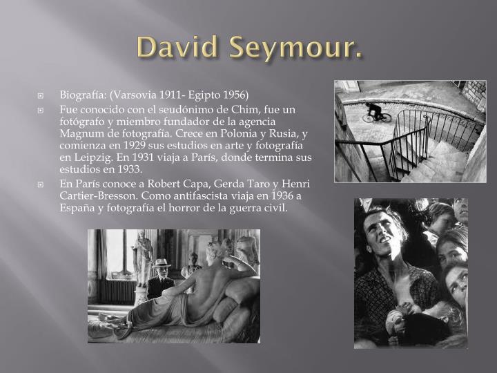David Seymour.