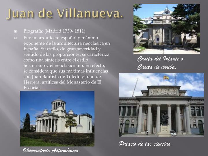 Juan de Villanueva.
