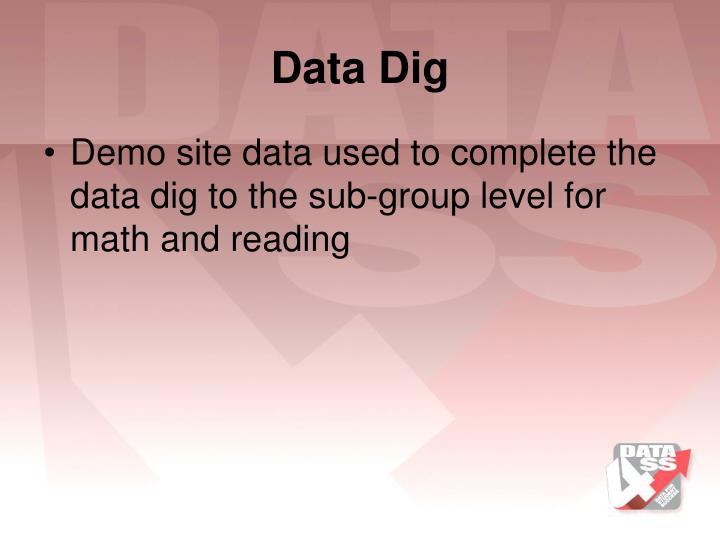 Data Dig