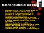 istoria telefoniei mobile