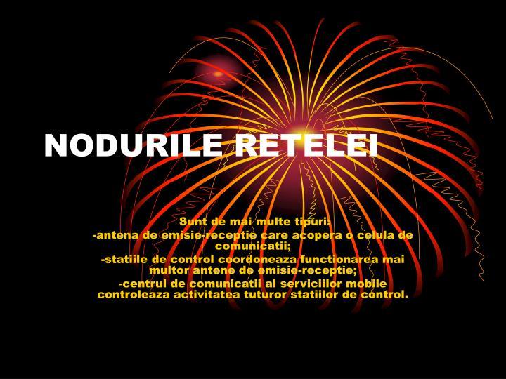 NODURILE RETELEI