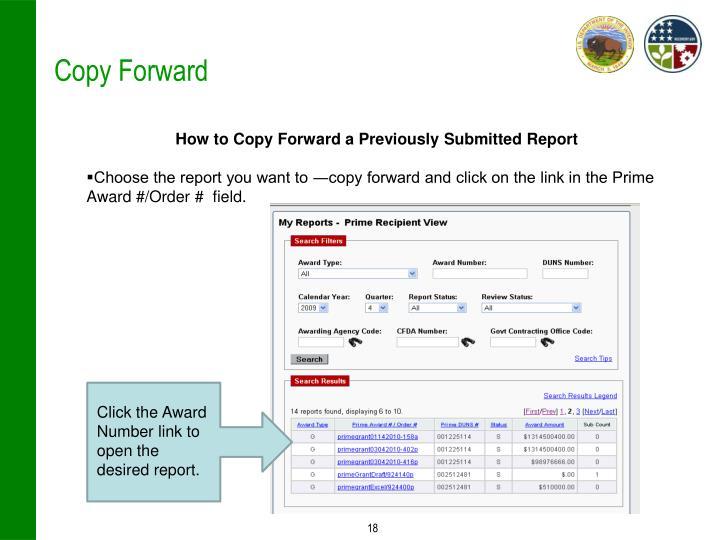 Copy Forward