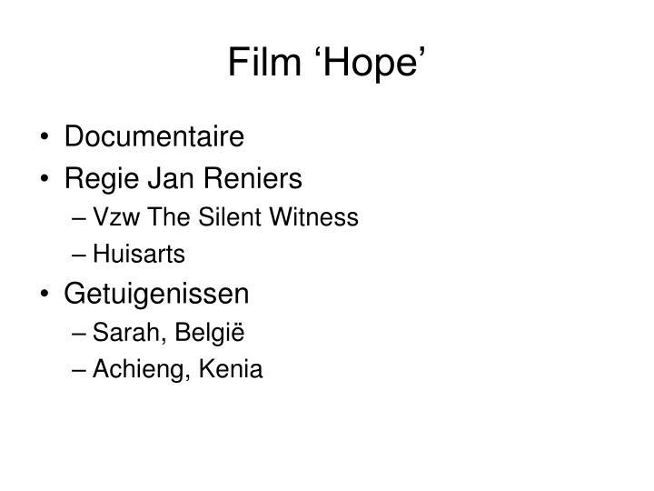 Film 'Hope'