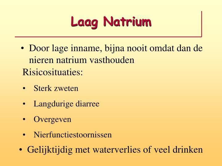 Laag Natrium