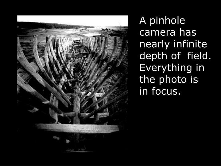 A pinhole
