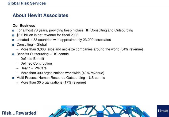 About Hewitt Associates