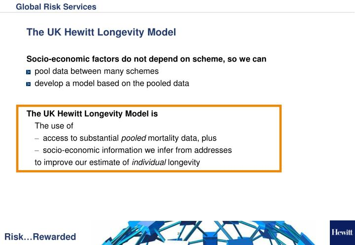 The UK Hewitt Longevity Model