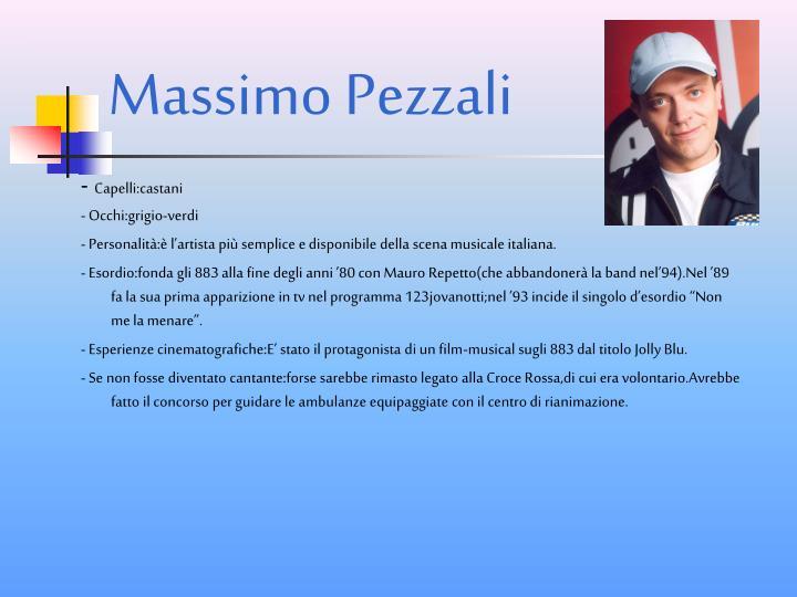 Massimo Pezzali