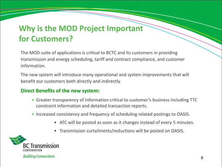 Why is the MOD Project Important