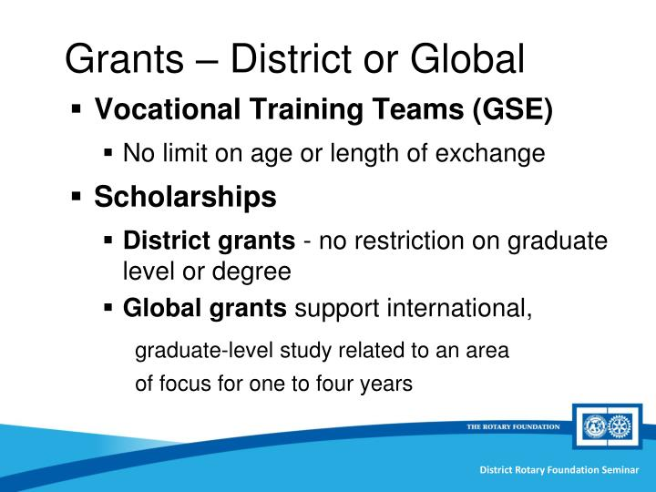 Vocational Training Teams (GSE)