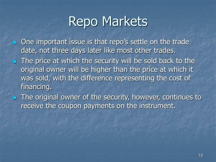 Repo Markets