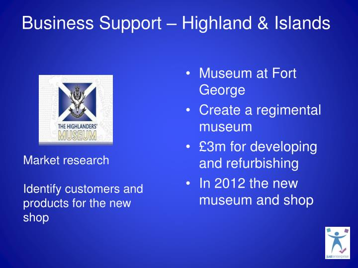 Business Support – Highland & Islands