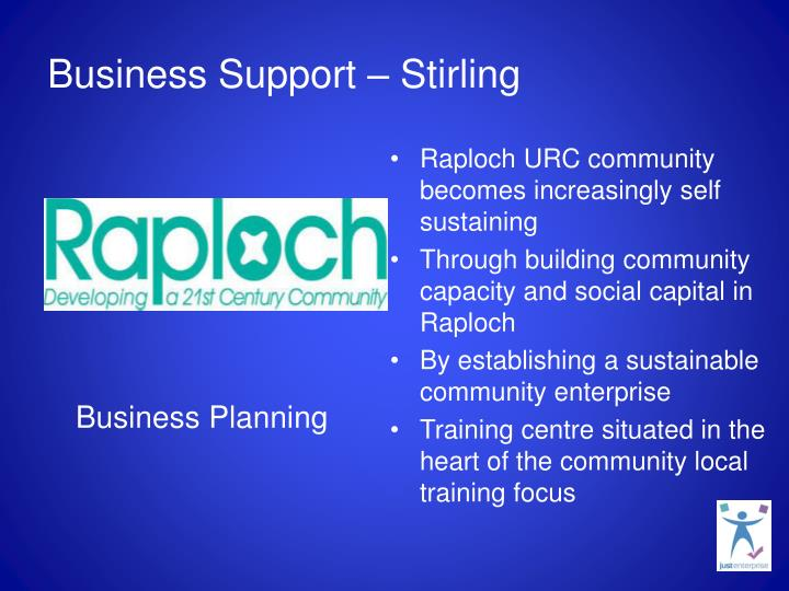 Business Support – Stirling