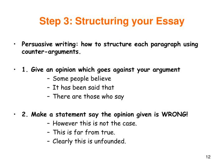 tips for writing the structuring essays it is common for inexperienced writers to write a report instead of an essay when using sources