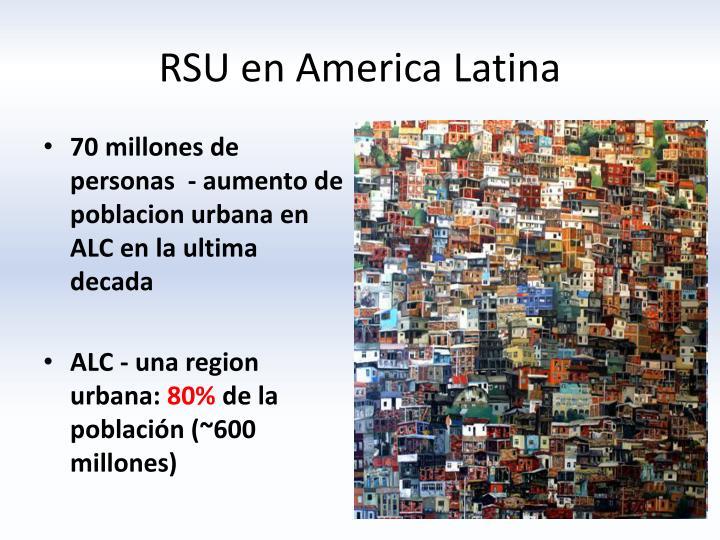 RSU en America Latina