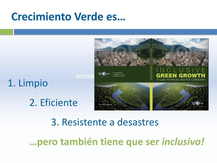 Crecimiento Verde es