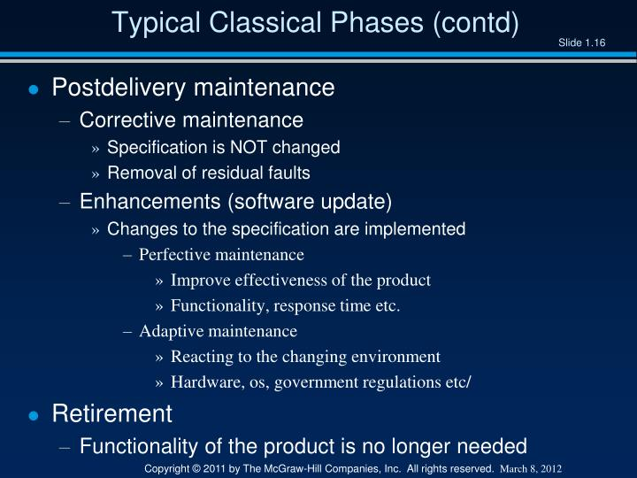 Typical Classical Phases (