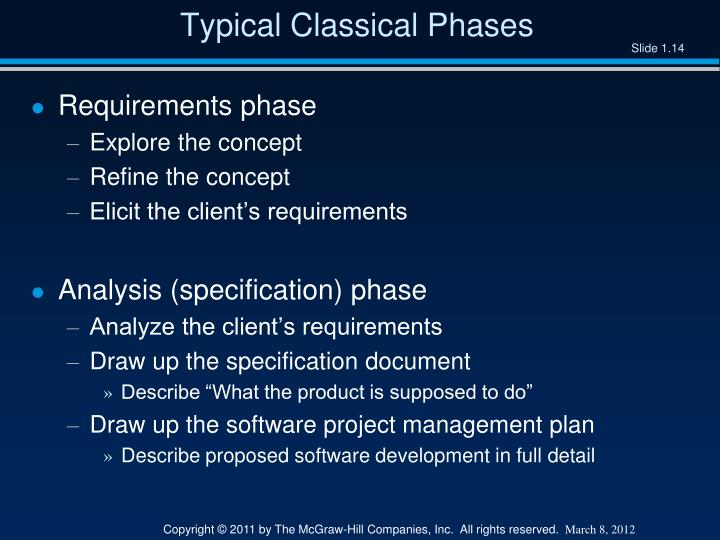 Typical Classical Phases