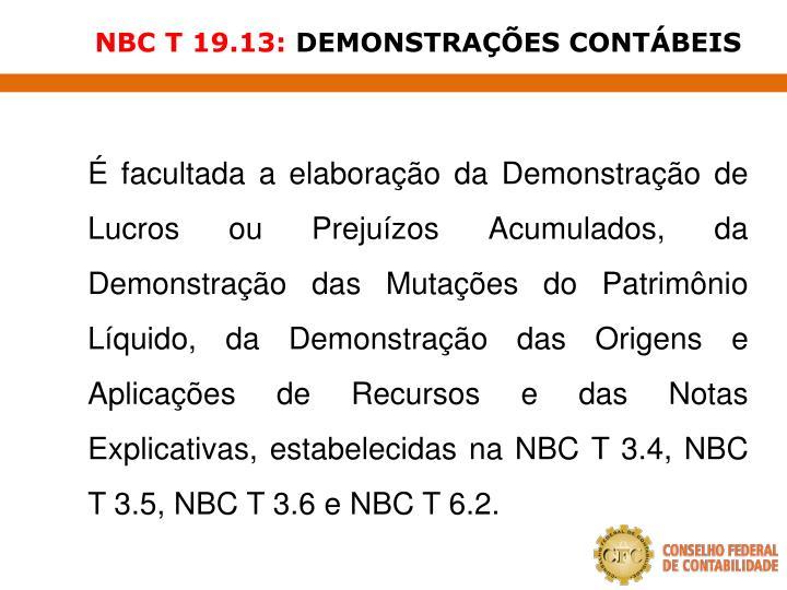 NBC T 19.13: