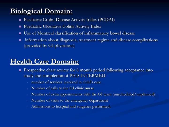 Biological Domain: