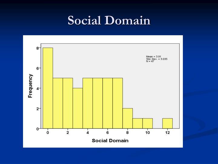 Social Domain