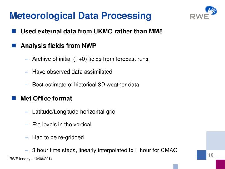 Meteorological Data Processing