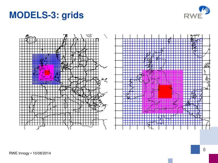 MODELS-3: grids