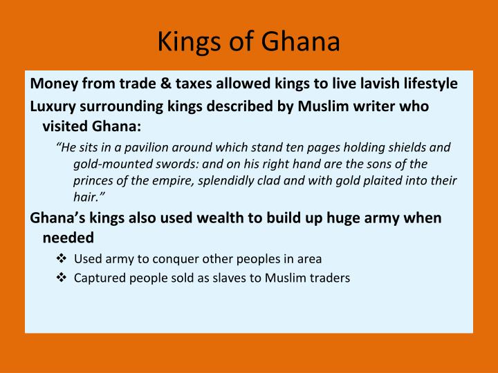 Kings of Ghana