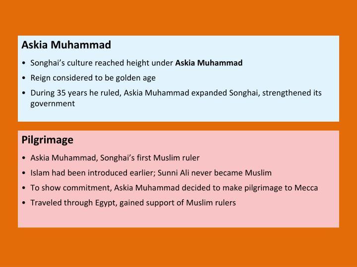 Askia Muhammad