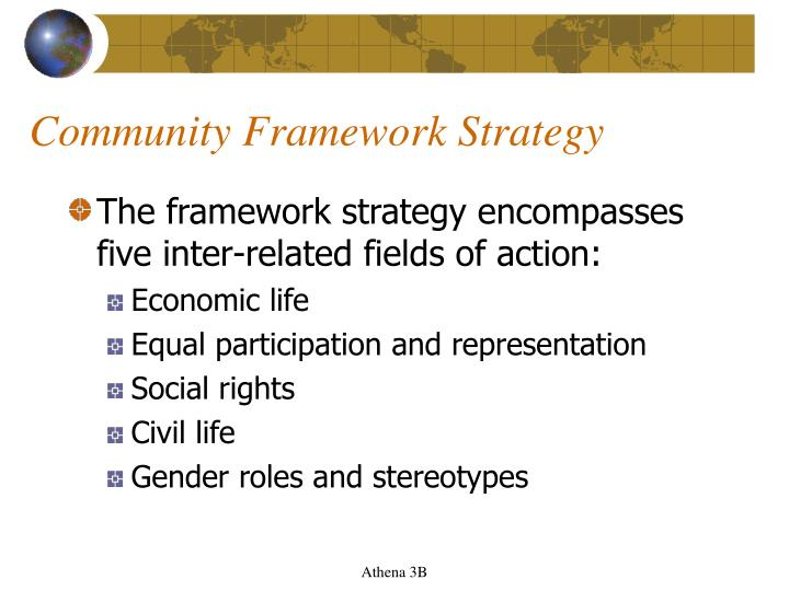 Community Framework Strategy