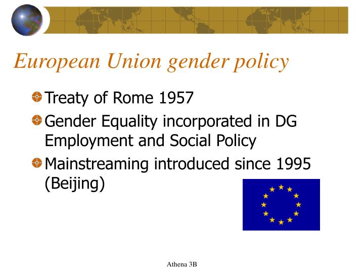 European Union gender policy