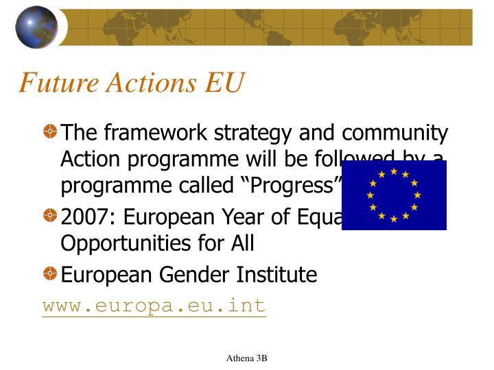 Future Actions EU