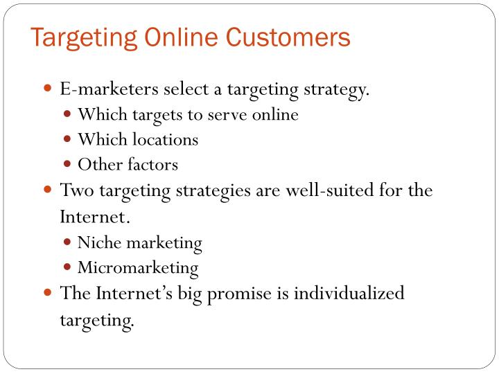 Targeting Online Customers
