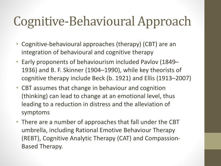 Cognitive-Behavioural Approach
