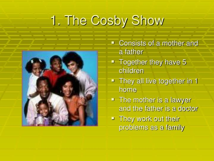 1. The Cosby Show