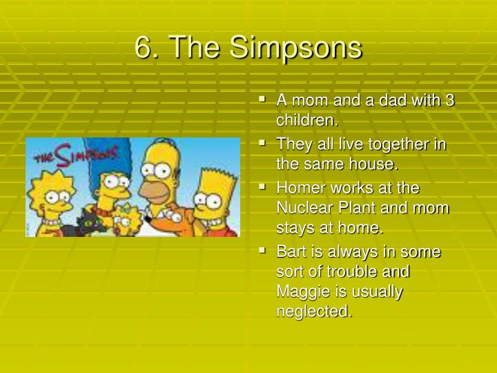 6. The Simpsons