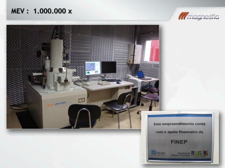 MEV :  1.000.000 x