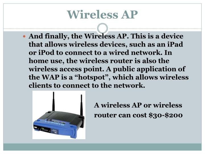 Wireless AP