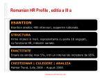 romanian hr profile editia a iii a
